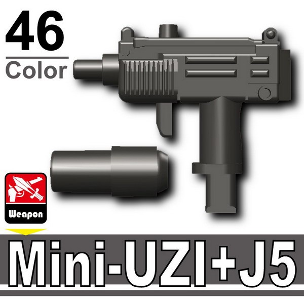 Pearl Dark Black_Mini-UZI+Silencer(J5)