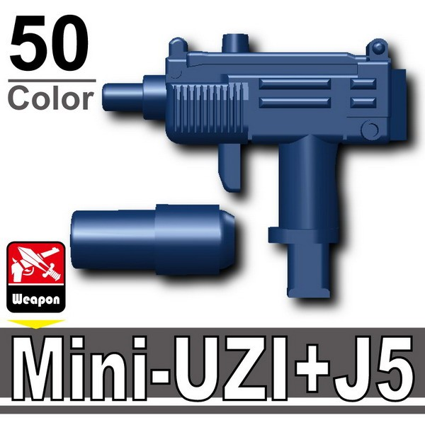 Dark Blue_Mini-UZI+Silencer(J5)