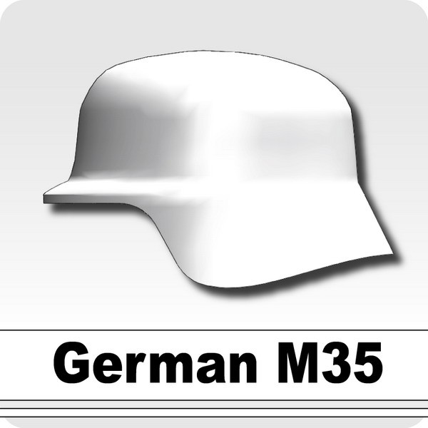 German M35 -White