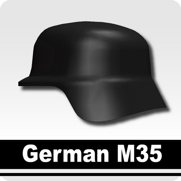 German M35 -Black
