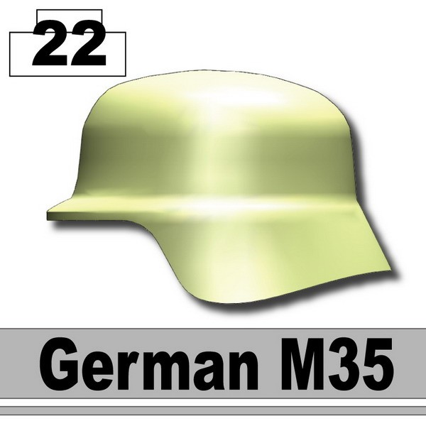 Sand Green_Helmet German M35