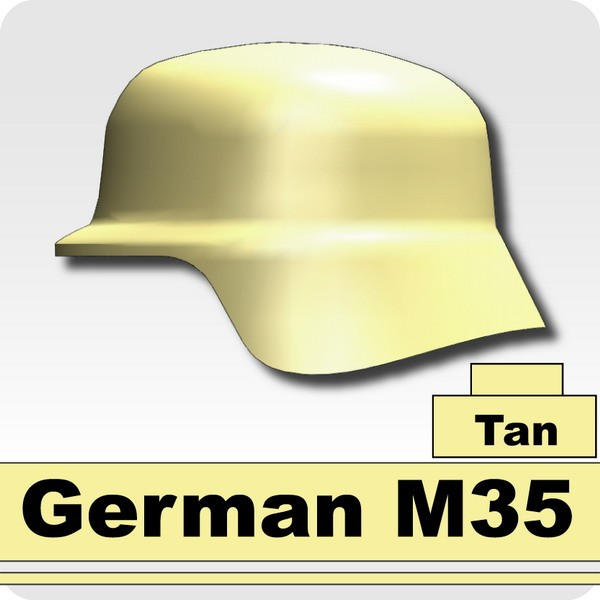 German M35 -Tan