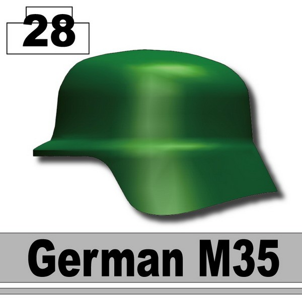 Dark Green_Helmet German M35