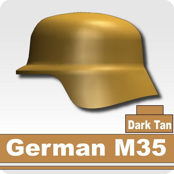 German M35 -Dark Tan