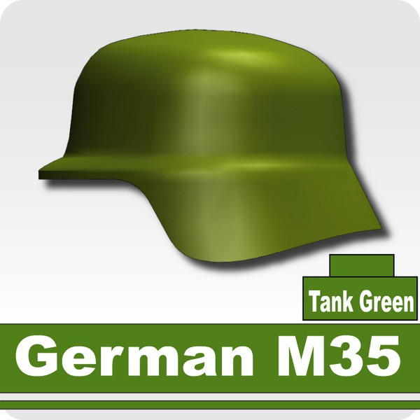 German M35 -Tank Green