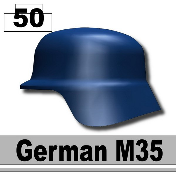 Dark Blue_Helmet German M35