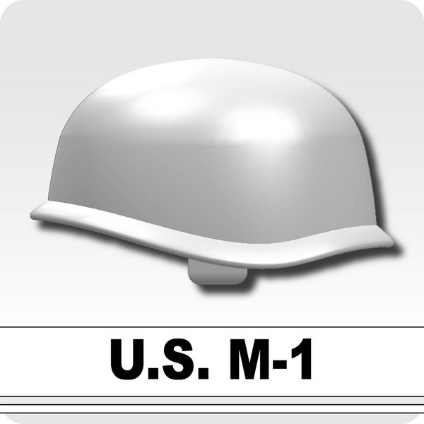 US M-1 Army Helmet -White