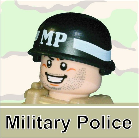 US M-1 Army Helmet(=MP=) -Black