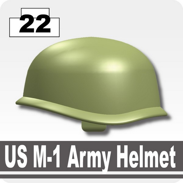 Sand Green_US M-1 Army Helmet