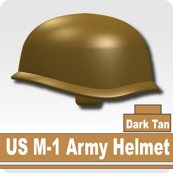 US M-1 Army Helmet -Dark Tan