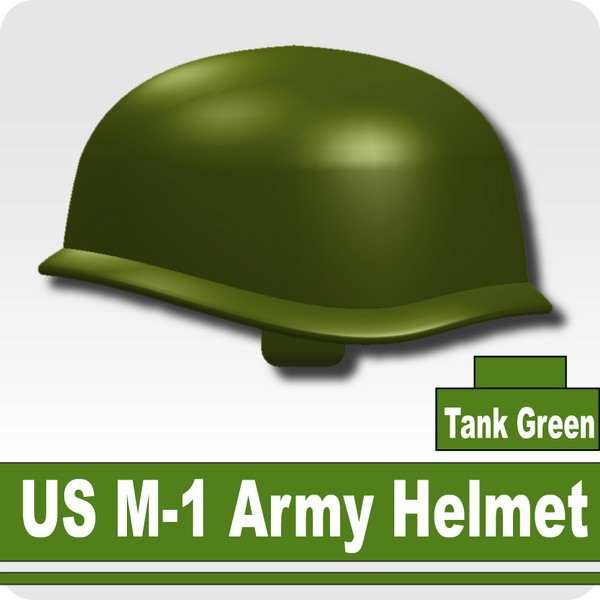 US M-1 Army Helmet -Tank Green