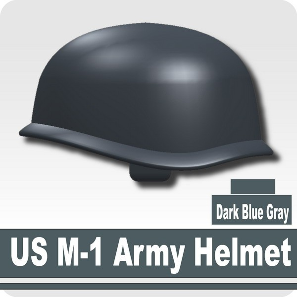 US M-1 Army Helmet -Dark Blue Gray