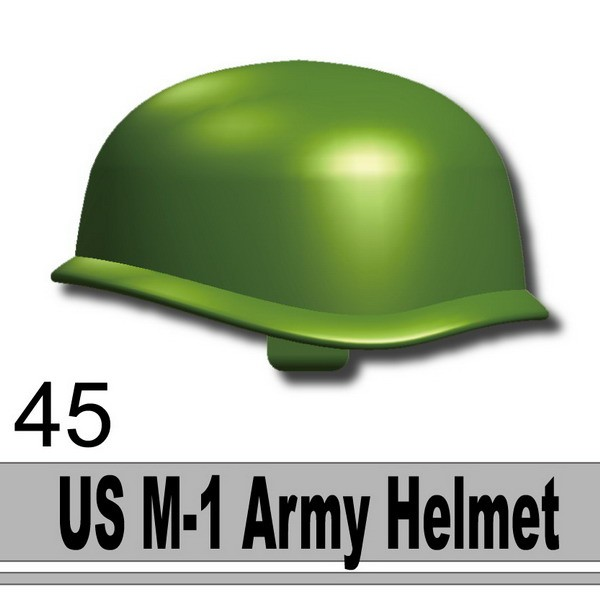 Iron Green_US M-1 Army Helmet