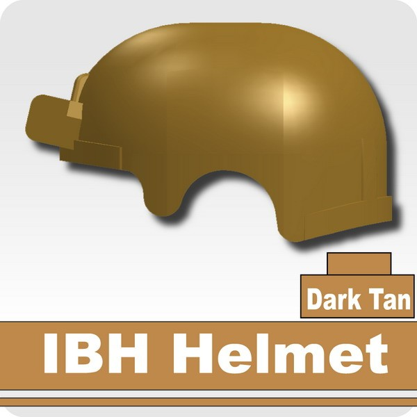 IBH Helmet -Dark Tan