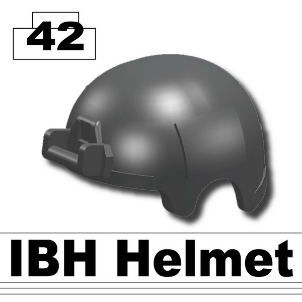 Iron Black_IBH Helmet