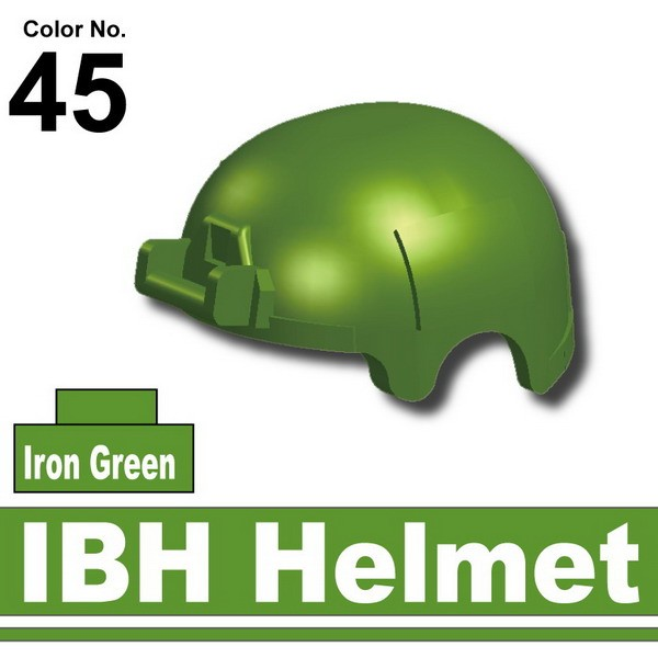 Iron Green_IBH Helmet