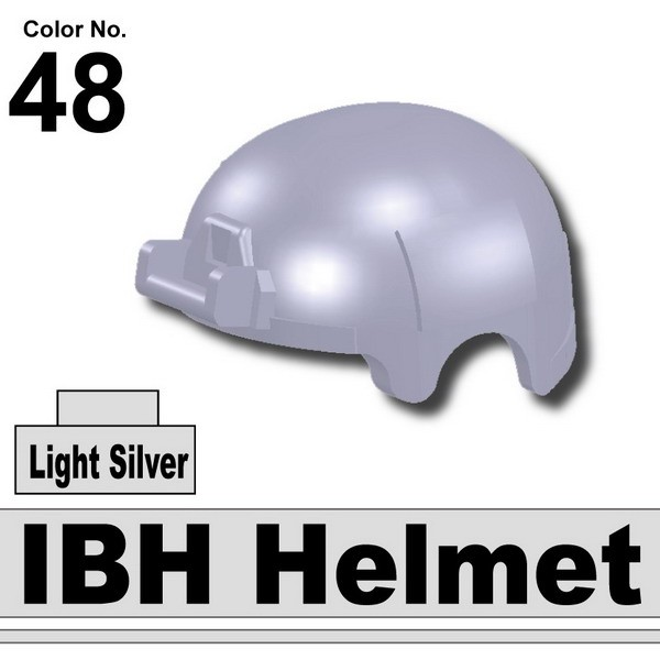 Light Silver_IBH Helmet