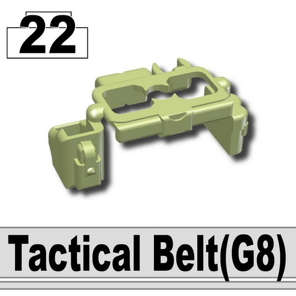 Sand Green_G8(Tactical Belt)