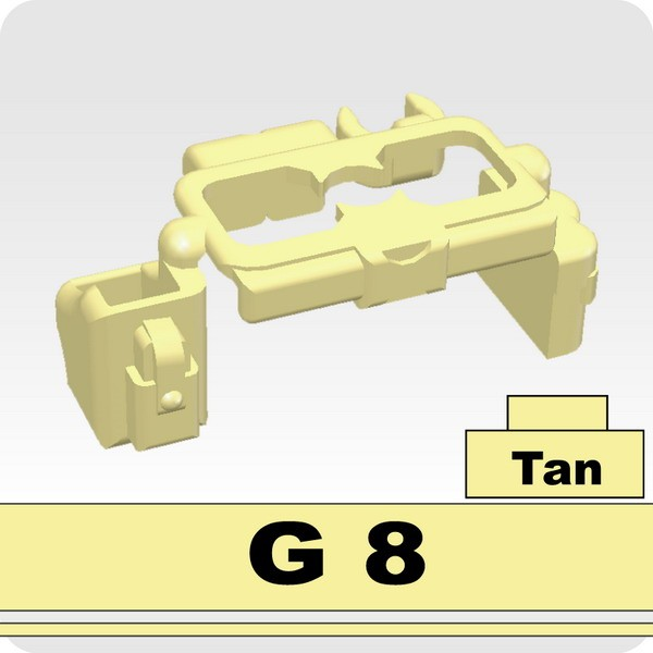 Tan_Tactical Belt(G8)