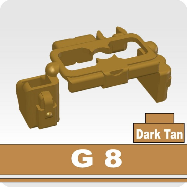 Dark Tan_Tactical Belt(G8)