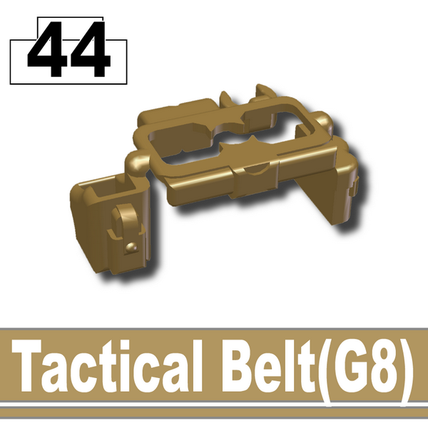 Dark Tan-2_Tactical Belt(G8)