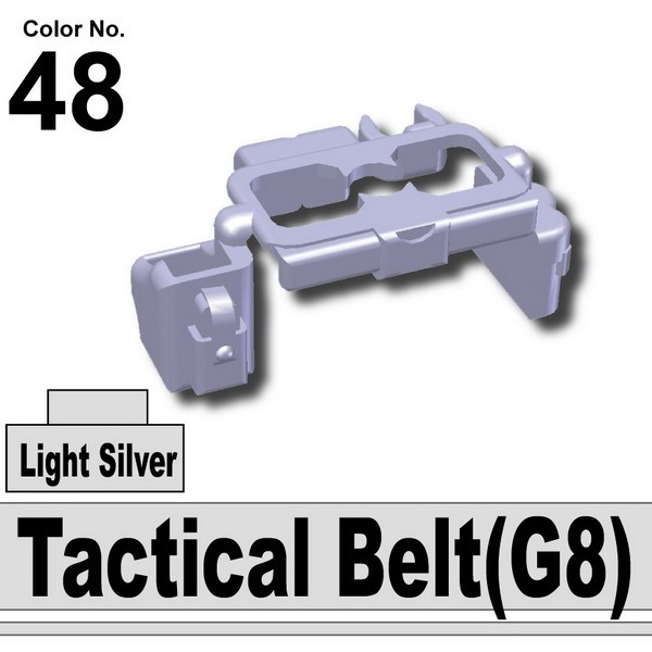 Light Silver_Tactical Belt(G8)