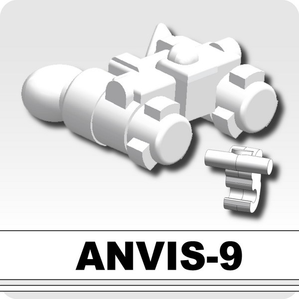 ANVIS-9 (Night Vision) -White