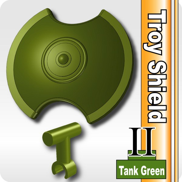Troy Shield II (with Shield Grip) -Tank Green
