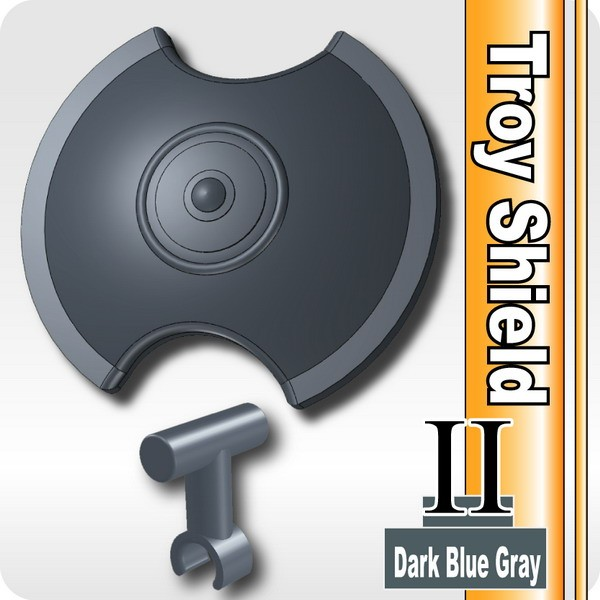 Troy Shield II (with Shield Grip) -Dark Blue Gray