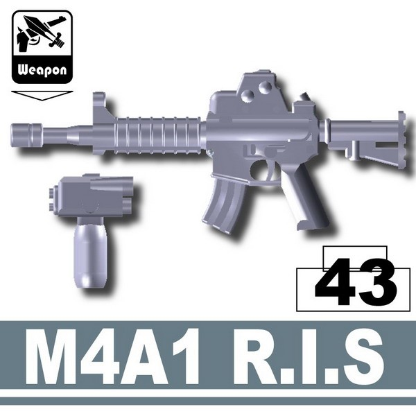 M4A1 R.I.S. -Dark Blue Gray