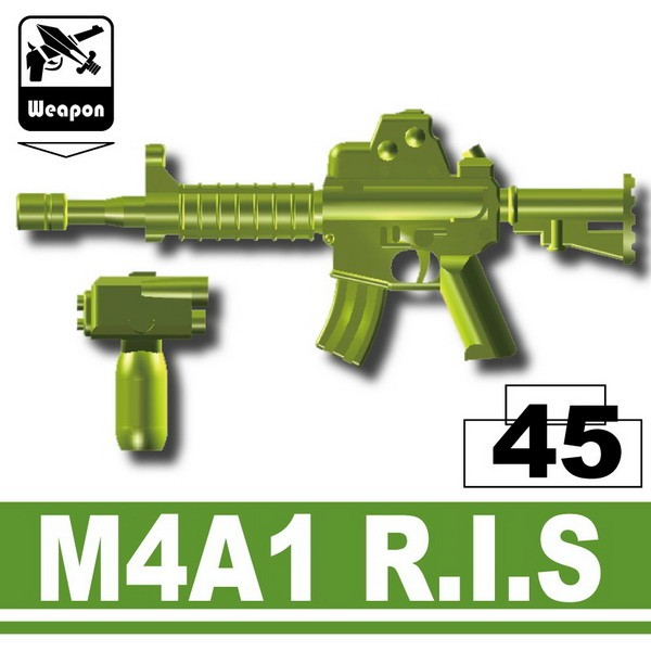 M4A1 R.I.S.-Iron Green