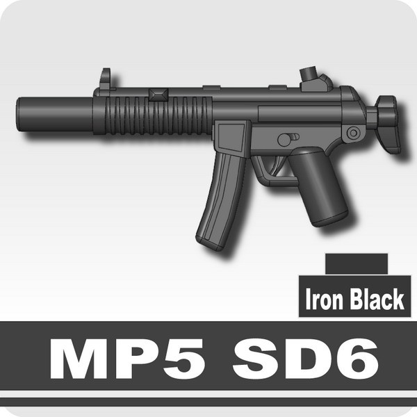 MP5 SD6 -Iron Black
