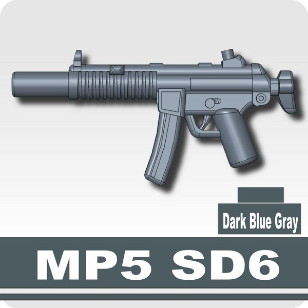 MP5 SD6 -Dark Blue Gray