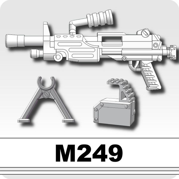 M249(Machine gun)-White