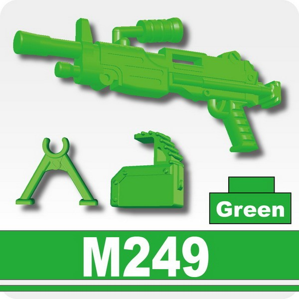 Machine gun (M249) -Green