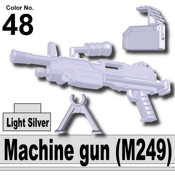 Light Silver_Machine gun (M249)