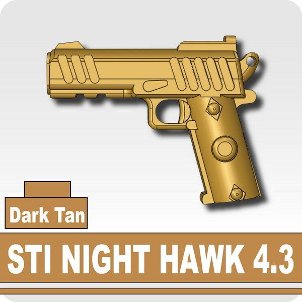 STI NIGHT HAWK 4.3 -Dark Tan
