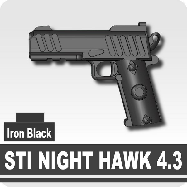 STI NIGHT HAWK 4.3 -Iron Black