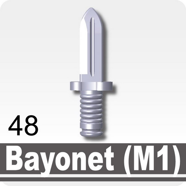 Light Silver_Bayonet (M1)