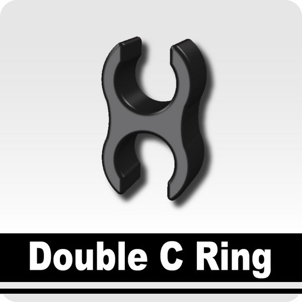 Double C Ring -Black