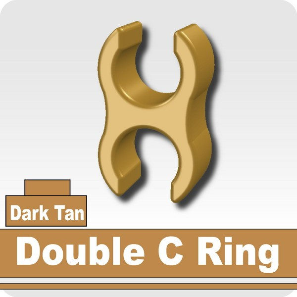 Double C Ring -Dark Tan