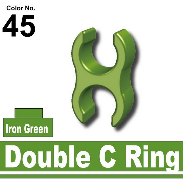 Iron Green_Double C Ring
