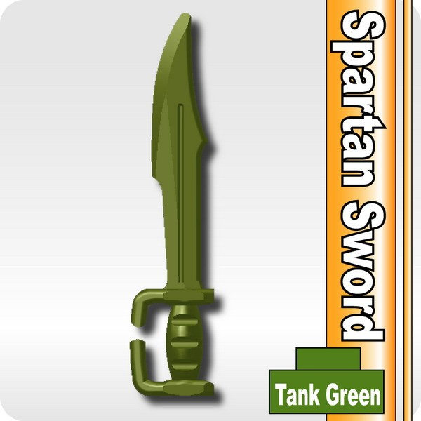 Spartan Sword -Tank Green