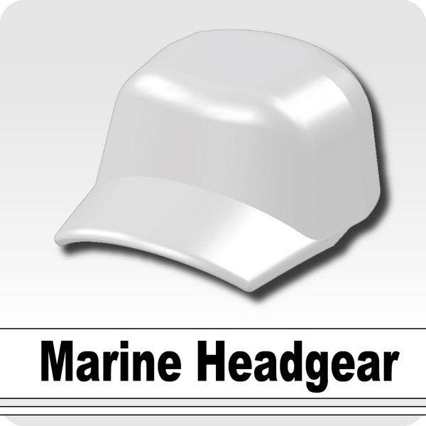 Marine Headgear -White