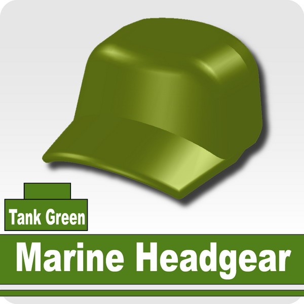 Marine Headgear -Tank Green