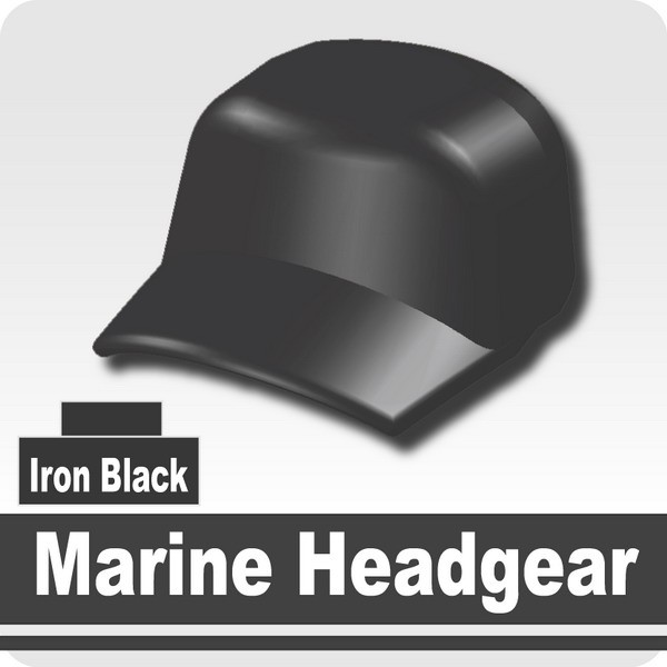 Marine Headgear -Iron Black