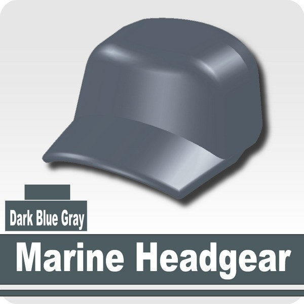 Marine Headgear -Dark Blue Gray