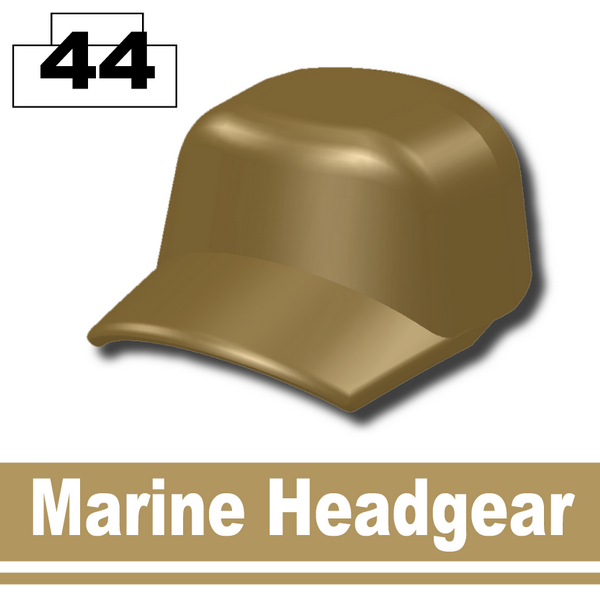 Marine Headgear -Dark Tan-2