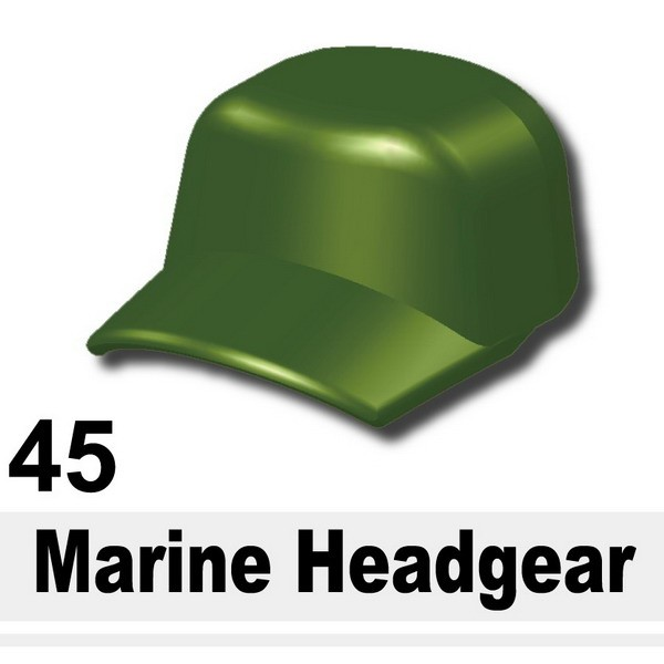 Iron Green_Marine Headgear