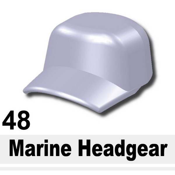 Light Silver_Marine Headgear